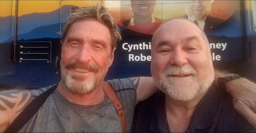 John McAfee and Robert David Steele QAnon.fun