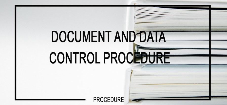 document-control-procedure