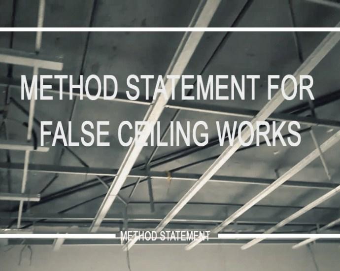 method-statement-false-ceiling-works