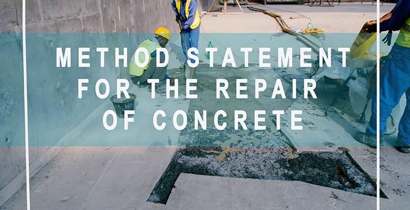 method-statement-repair-of-concrete