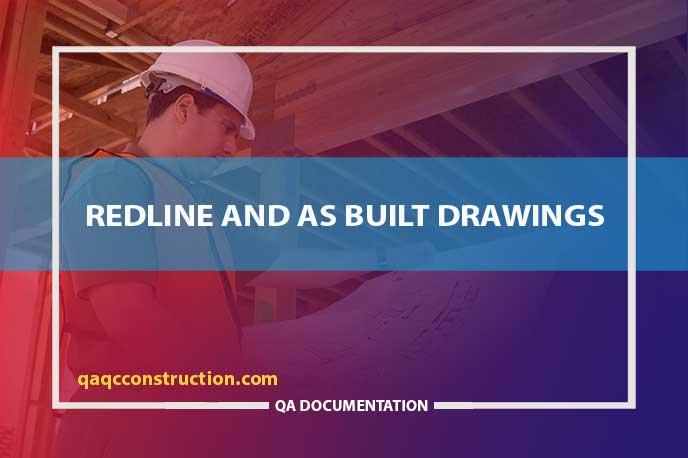 redline drawings vs as builts