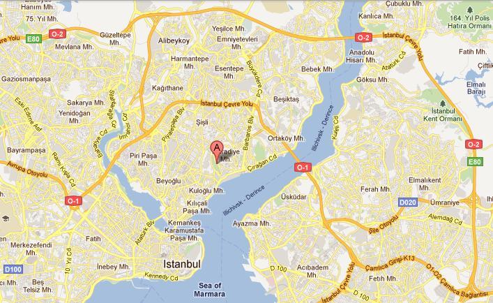هتل هیلتون پارکسا استانبول، محل برگزاری مصاحبههای کبک
