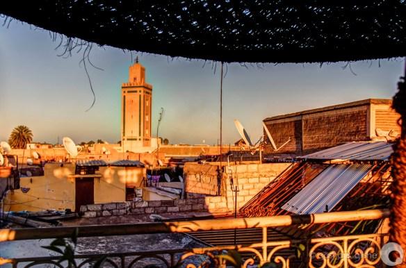 medina roofs