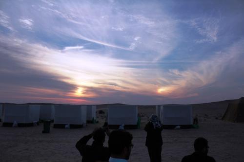 الرصد الفلكي ومعلومات عن الكواكب والنجوم ضمن مخيم فلكيون