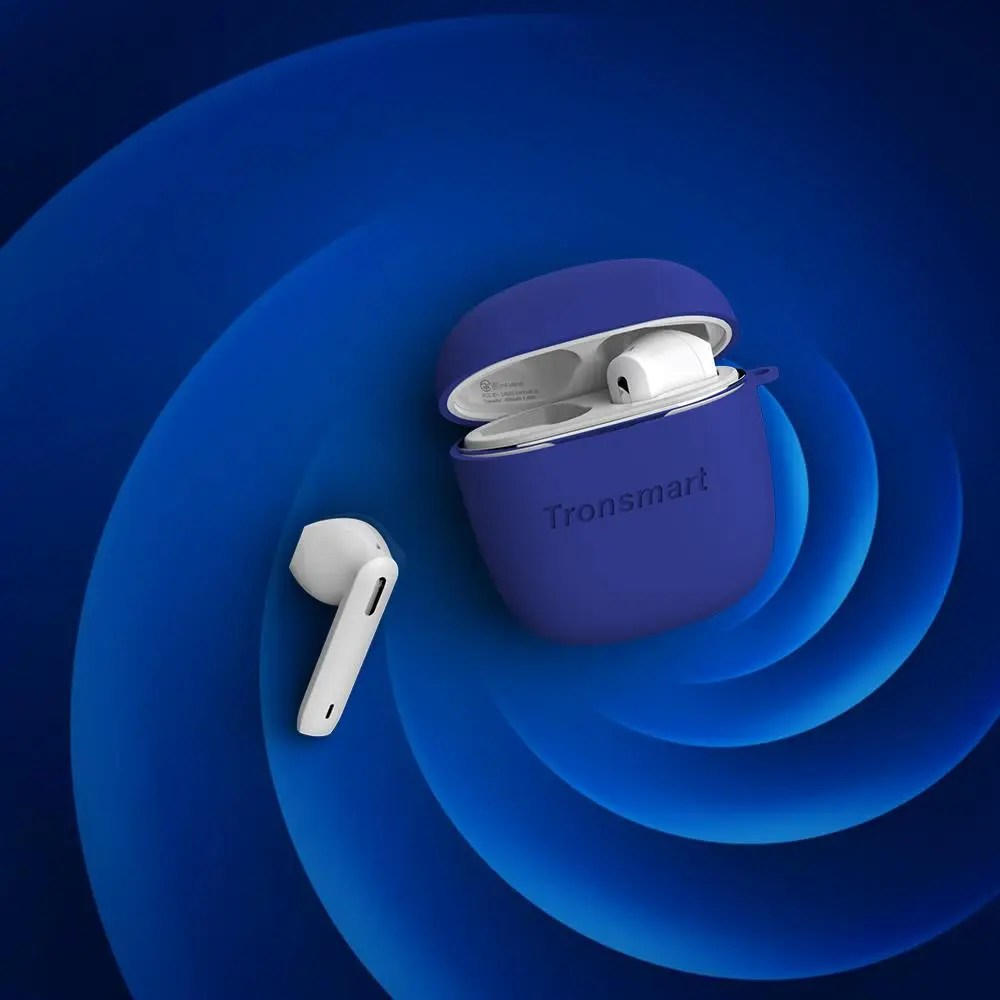 Tronsmart Onyx Ace TWS Bluetooth 5.0 Earphones Qualcomm aptX Wireless Earbuds Noise Cancellation with 4 Microphones,24H Playtime