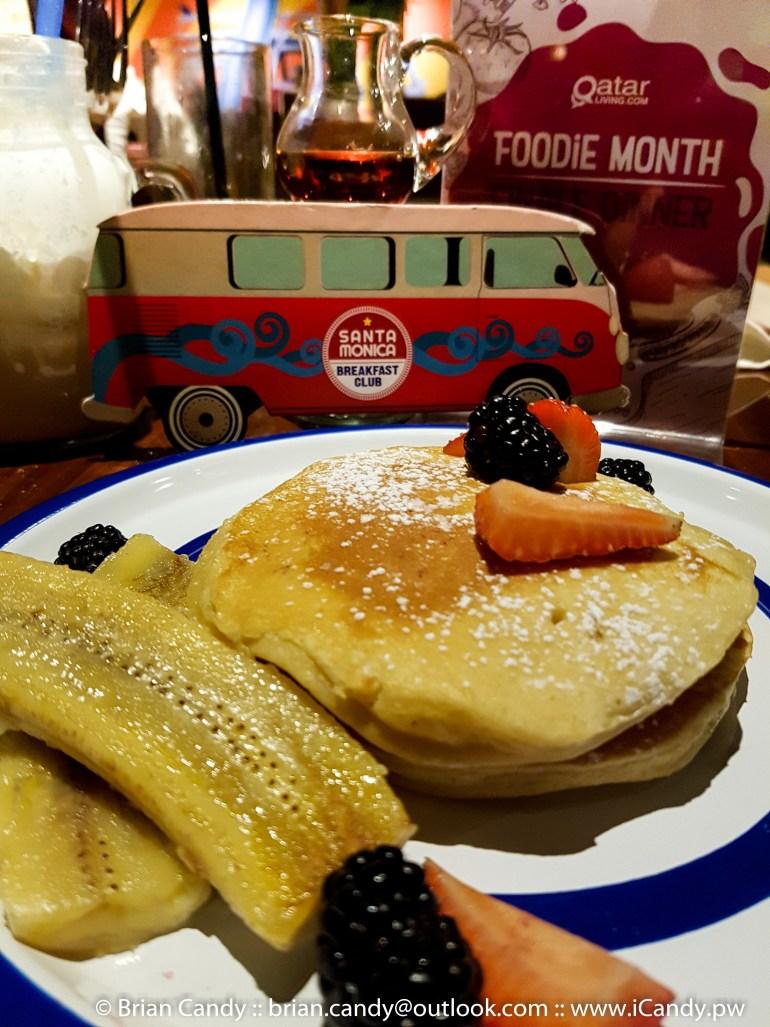 Pancakes at the Santa Monica Breakfast Club