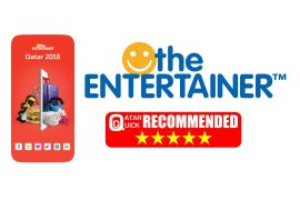 Qatar Quick recommends purchasing a copy of the Entertainer