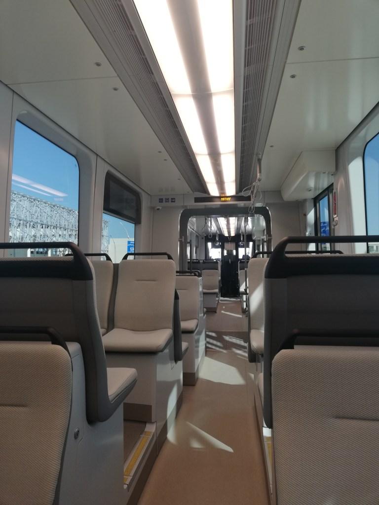 EC Tram interior