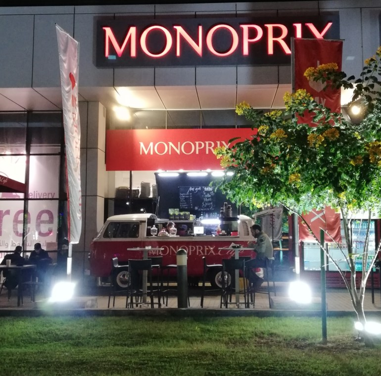 Photo shows Monoprix Coffee Shop