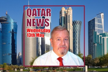 The Qatar News in around 60 Seconds – Wednesday 13th May 2020