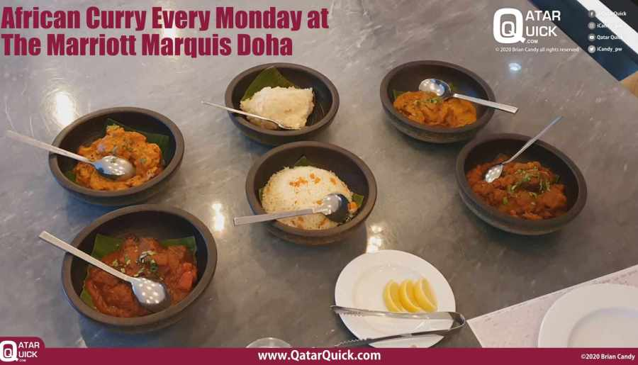 African Curry's at the Marriott Marquis Doha every Monday