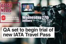 Qatar Airways set to begin trial of new IATA travel pass