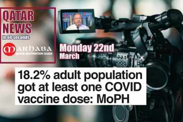 1 in 6 adults given at least one dose of vaccine