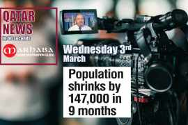 Population shrinks by 147,000 in nine months