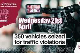 350 vehicles seized for traffic violations