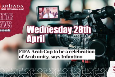 FIFA Arab Cup to be a celebration of Arab unity says Infantino