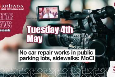 No car repair works in public parking lots or sidewalks