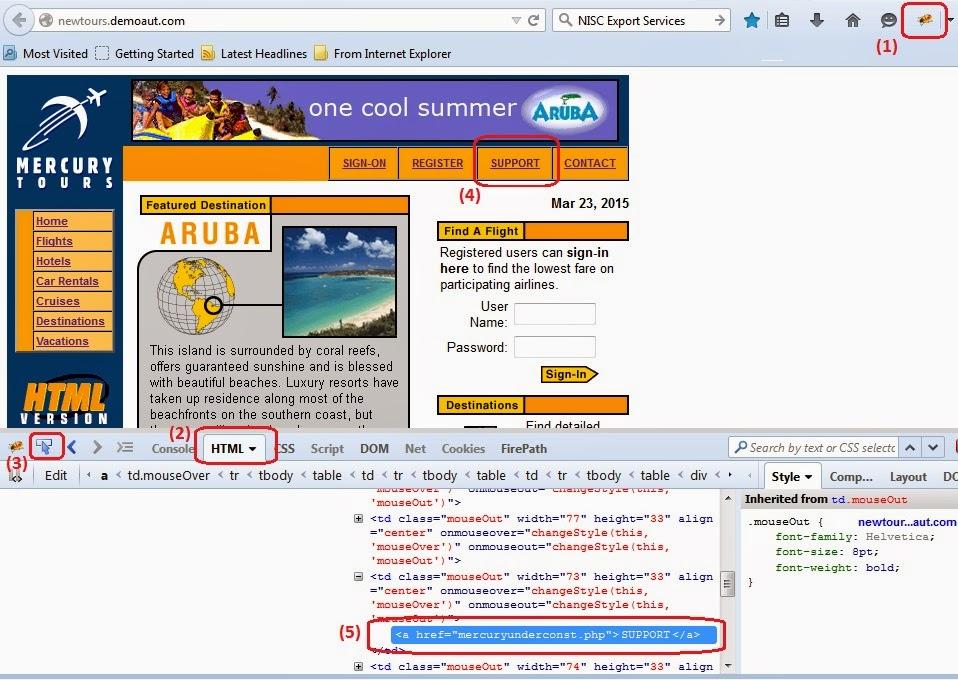 Firefox addons to identify web elements for Selenium - qavalidation