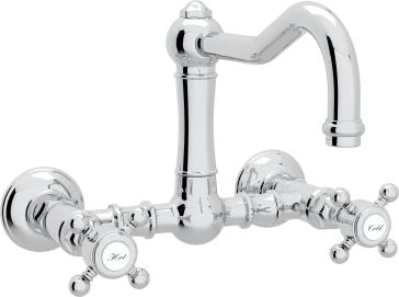 acqui wall mounted kitchen faucet