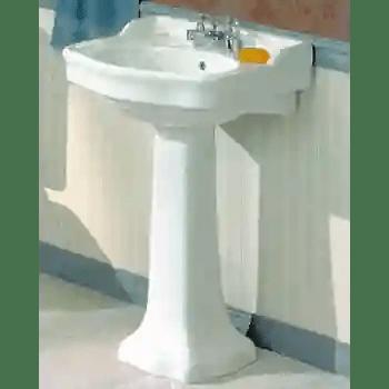 antique pedestal lavatory