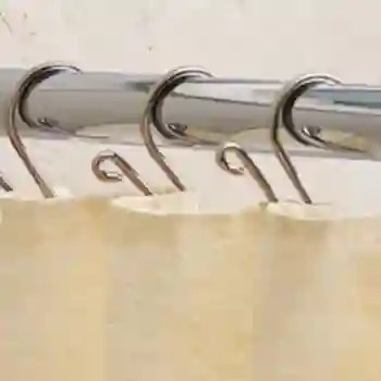 6 shower curtain rod