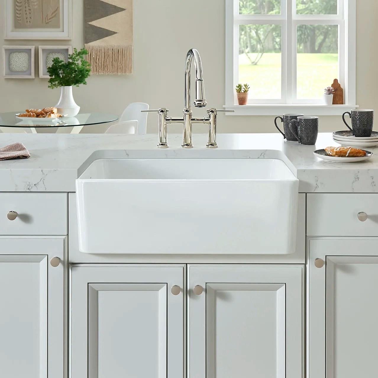 blanco 524257 cerana 30 apron front kitchen sink and grid