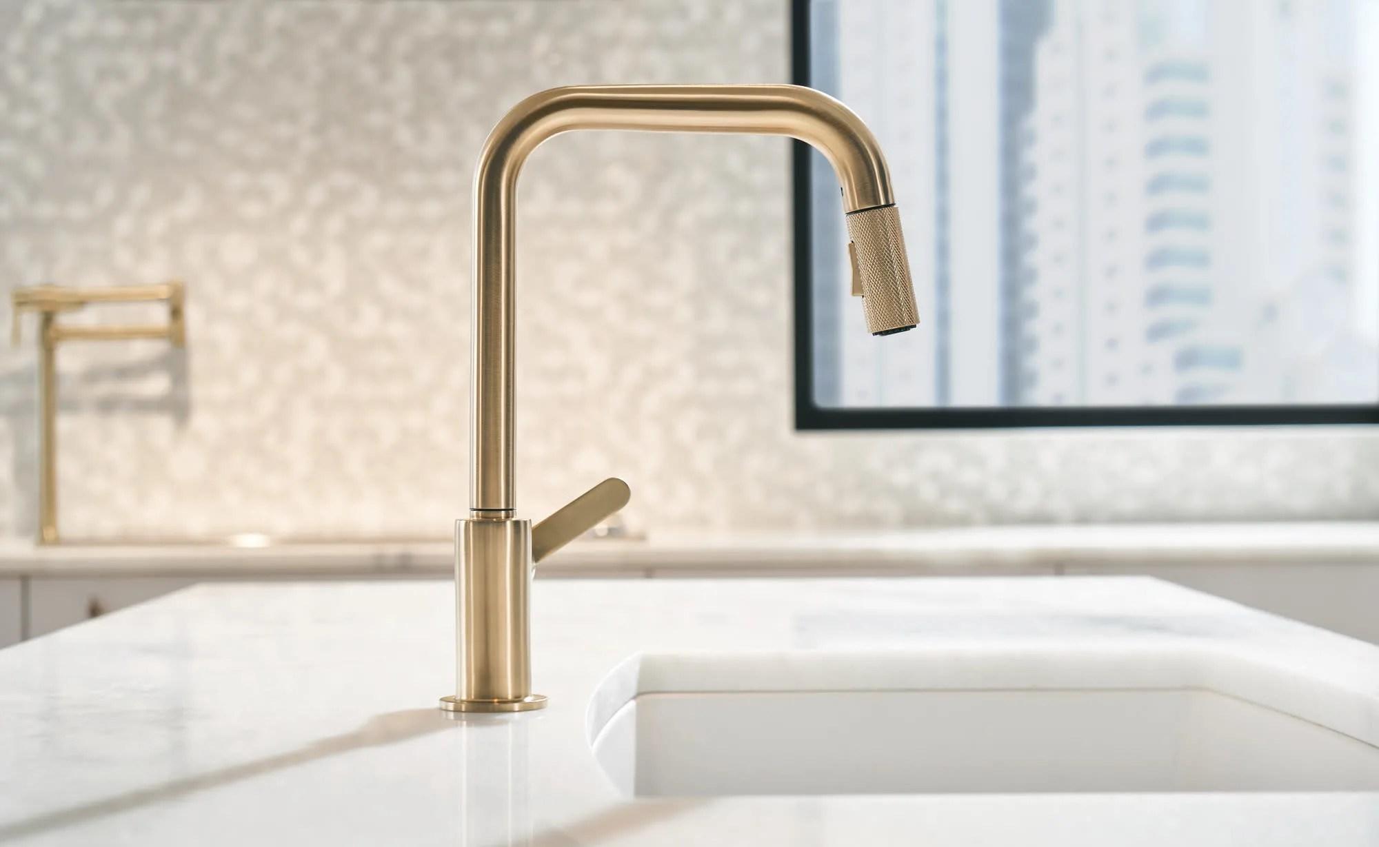 brizo 63054lf litze kitchen faucet