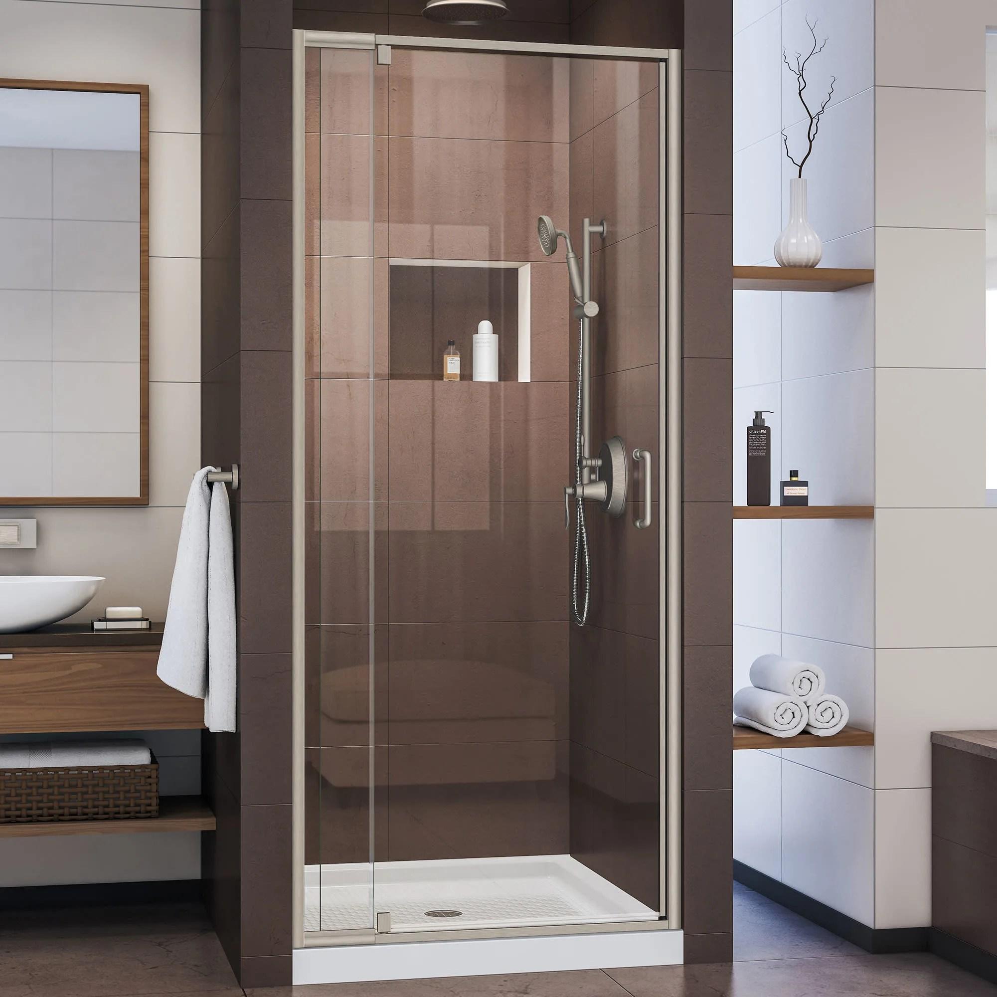 Dreamline Shdr 22327200 Flex Pivot Shower Door 32 36 Wide