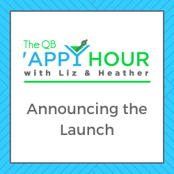 Announcing the Launch of the QB 'Appy Hour!
