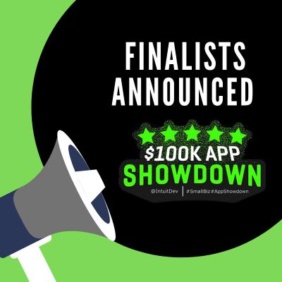 100K Small Business App Showdown Finalists Announced!!