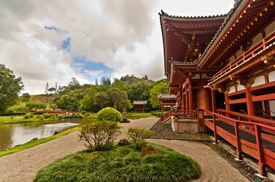 Byodo-In Temple (LOST film location: http://www.lostvirtualtour.com/lost/filming_locations/byodointemple/index.html )