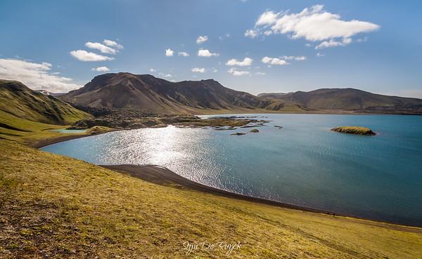 Frostastaðavatn along F208 to Landmannalaugar, Icelandic Highlands