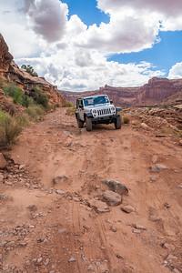 Shafer Trail to Moab, Utah