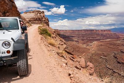 Shafer Trail, Canyonlands National Park, Utah