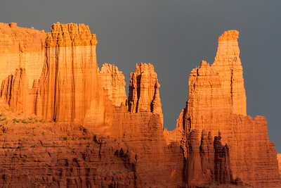 Fisher Towers, State Route 128, Utah