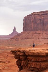 Big Indian & Merrick Butte, Monument Valley, Arizona