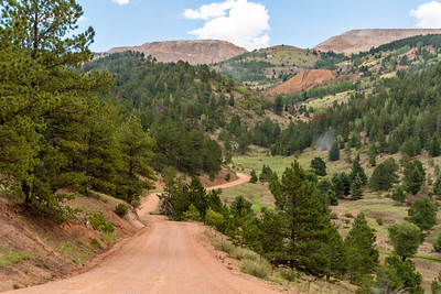 Shelf Road, Colorado
