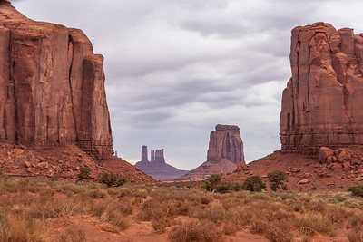 North Window, Monument Valley, Arizona