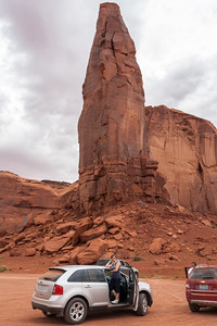 Howling Wolf Rock, Monument Valley, Arizona
