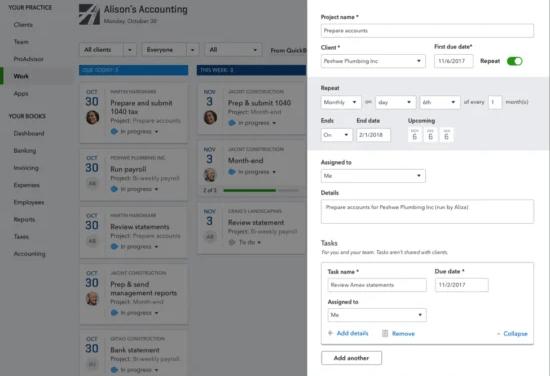 QuickBooks Online Accountant Slack Integration