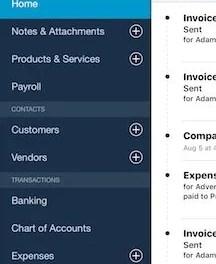 QuickBooks Online's Smartphone Mobile App