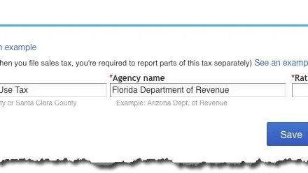 Setting Up Sales Tax in QuickBooks Online