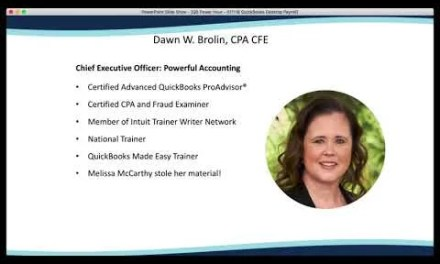 QB Power Hour: NEW 1099's in QuickBooks Online and Misc. QuickBooks Desktop Payroll
