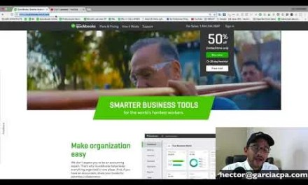 Video: QuickBooks Online Tutorial – March 2018