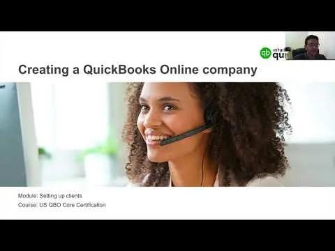 QuickBooks Online ProAdvisor Certification Exam Prep, Part 1 of 2