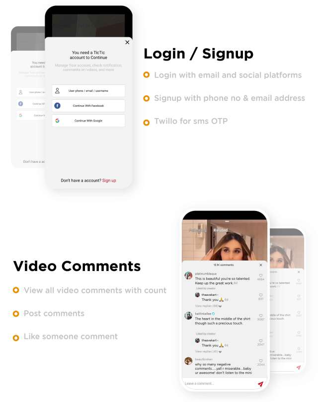TicTic - Android media app for creating and sharing short videos - 7
