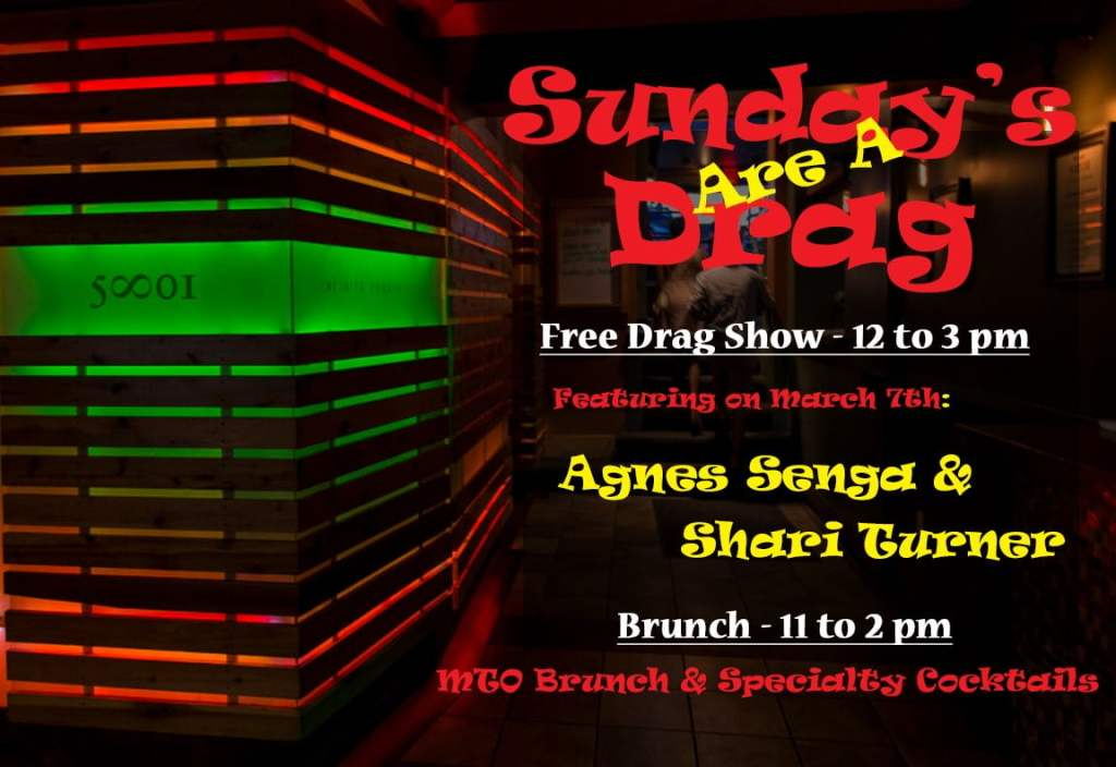 Sunday Brunch & Free Drag Show at 5801