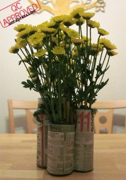 Phone book pencil holder used as centerpiece for dinning table / QC APPROVED.