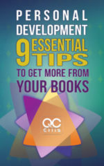 """book cover of """"Personal Development: 9 Essential Tips To Get More From Your Books"""""""
