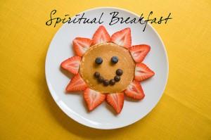Image result for spiritual breakfast
